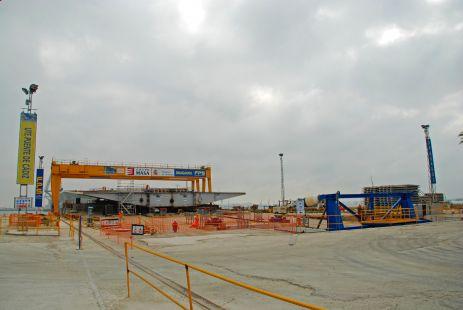 Construcci�n II Puente a C�diz (16-09-2011)
