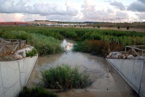 No se le cae la cara de vergüenza al ayuntamiento con este río si se puede llamar así.