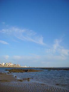 Los últimos rayitos de playa.