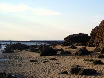 Estupendo día en la playa.