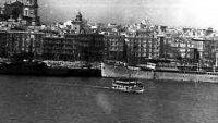 En aquellos tiempo el vaporcito por Cádiz.
