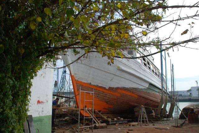 En el Varadero de El Puerto