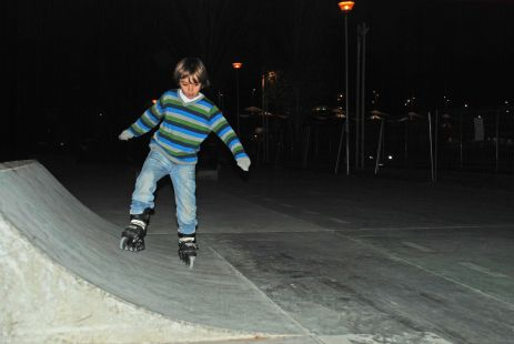 Patinaje de Hugo (Diciembre 2011)
