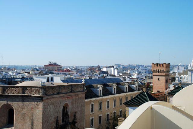 Las Setas de Sevilla (diciembre 2011)