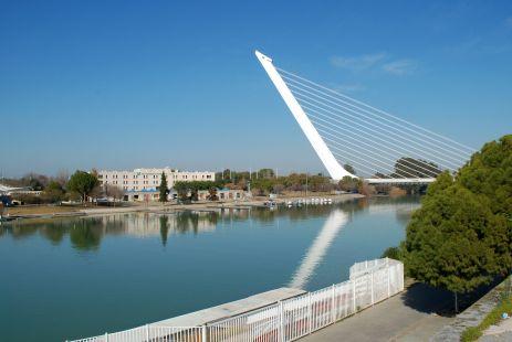 Paseo al Puente del Alamillo (Sevilla)