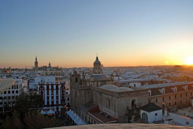 desde Las Setas de Sevilla