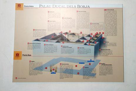 Palacio de Los Borja Gand�a (Patio)