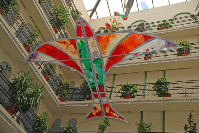 Decoración del Patio del Hotel Zoraida de Roquetas de Mar (2012)