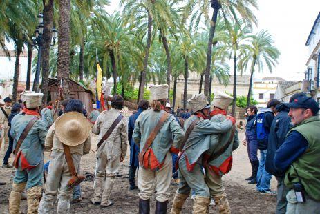 Rodaje de -El Libertador-
