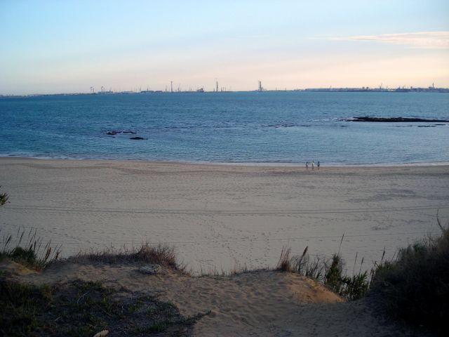 Las lindas playas de Cádiz.