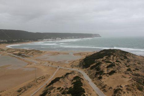 La playa  trafalgar.