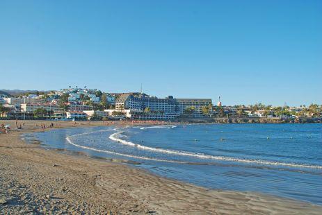 Fotografiando el Paseo Mar�timo de las Playas del Ingl�s a San Agustin