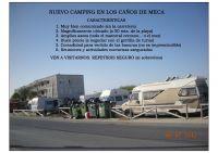 nuevo camping en Los Caños de Meca