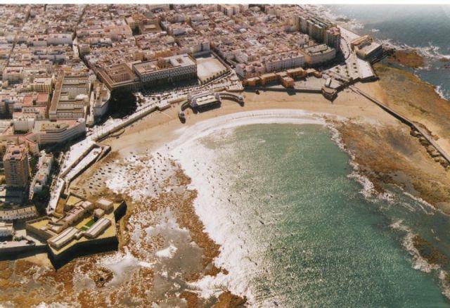 Cádiz desde lo más alto.