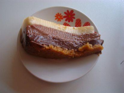 MI TARTA TRES CHOCOLATES EN LA TERMOMIX