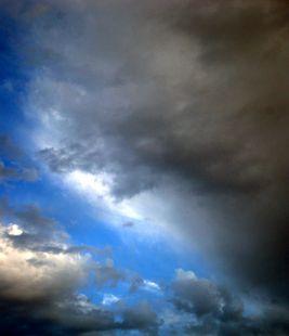 Las nubes del día.