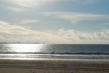 Playa Valdelagrana, C�diz.