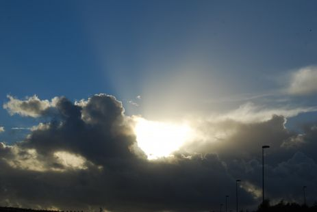 El único rayito de sol que ha salido hoy.