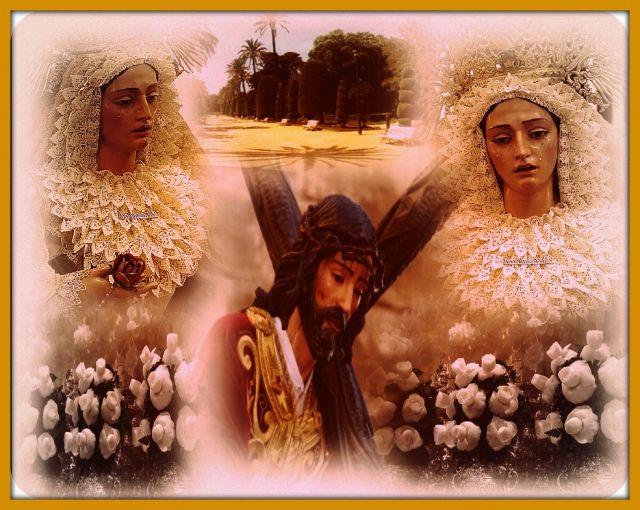 Jesús Caído y Virgen Desamparados de Cádiz.