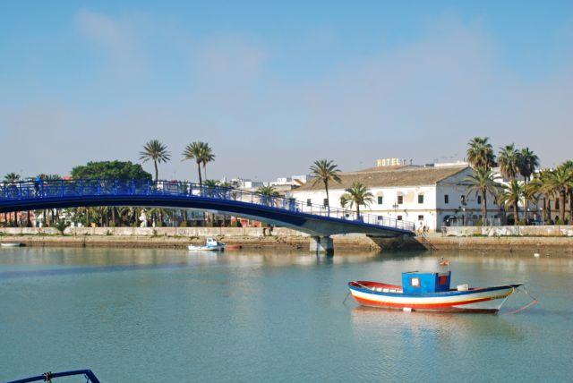 Río Guadalete al paso por el Puerto de Santa María