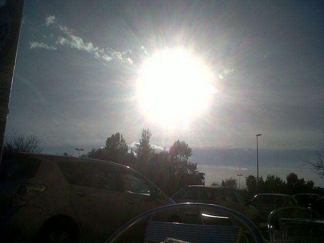 Un nuevo día de sol.