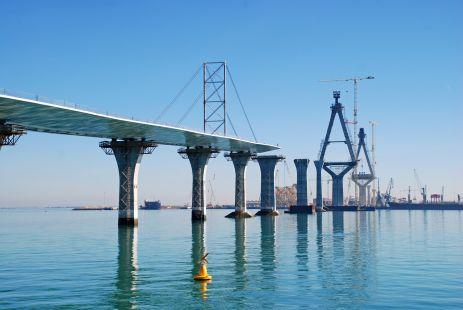 Construcci�n II Puente de C�diz-Febrero-2013