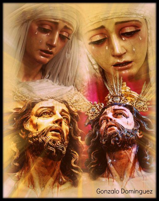 Nuestro padre del Perdón y nuestra madre Santísima del Rosario.