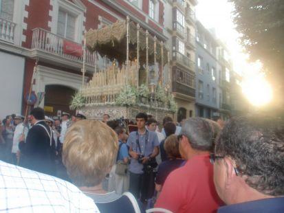 El 16 de Julio, la virgen del Carmen.
