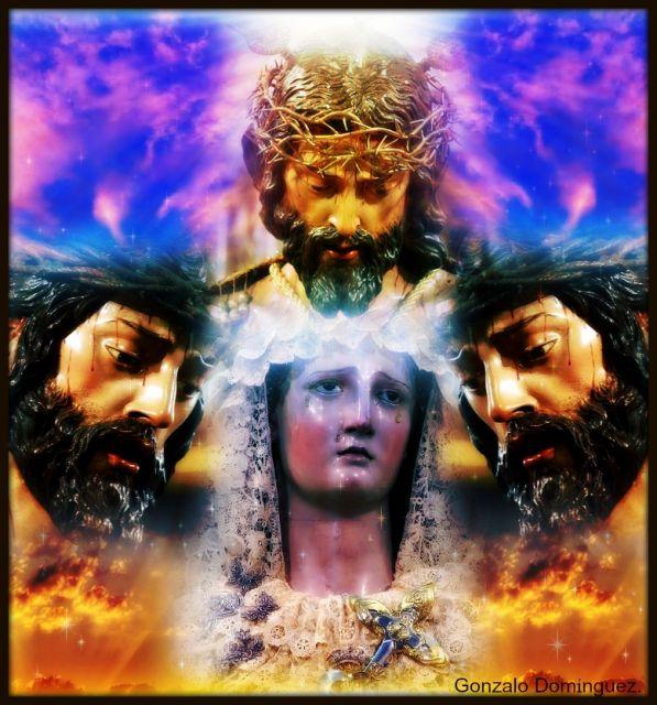 Padre Jesus del Ecce-Homo y María Santísima de las Angustia.