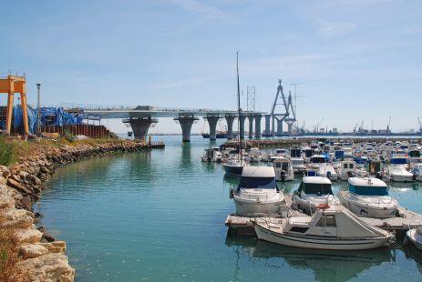 Construcción II Puente de Cádiz 06-Mayo-2013