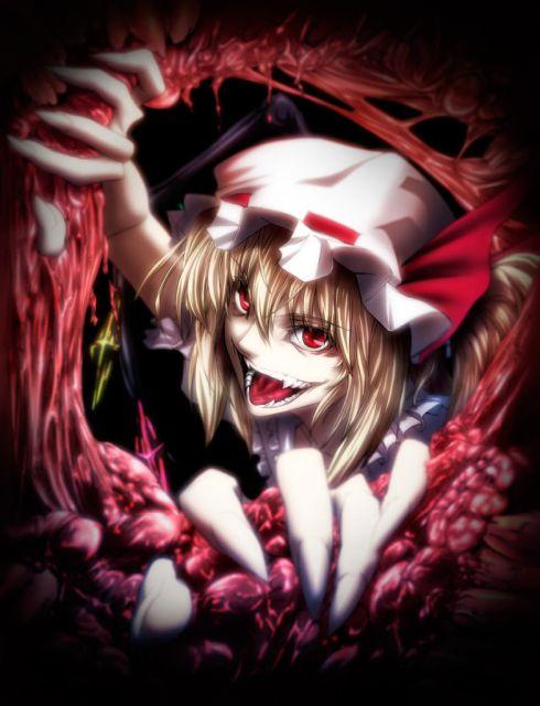 Flande Scarlet (PROYECTO ISTOBAL-BLOODBERRY STAFF-Flandre Scarlet Gore-Touhou-Glace7Z)