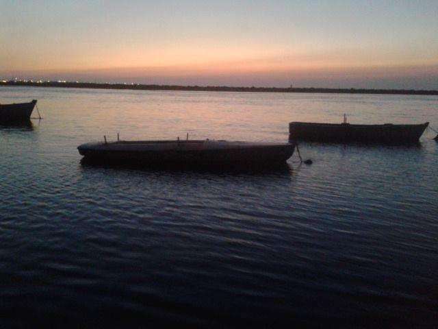 AL CAER EL SOL EN EL RIO SAN PEDRO
