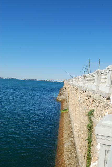 Las murallas de la alameda Cádiz.