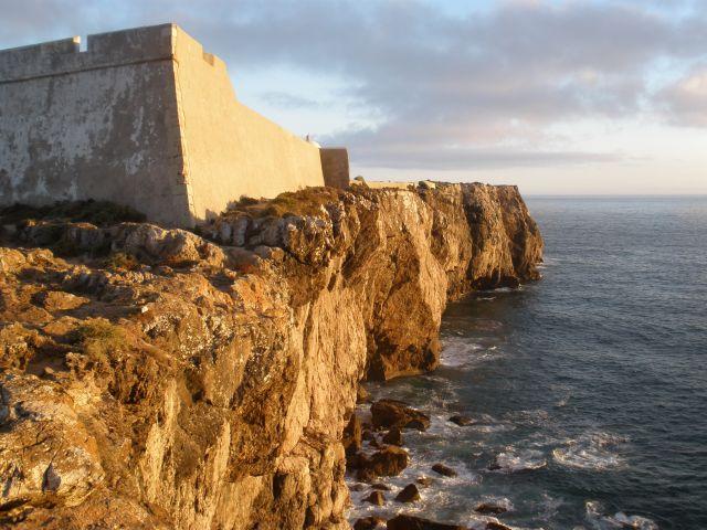 Acantilado fortaleza.