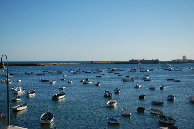 La caleta, Cádiz.