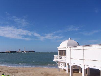 Cádiz. La caleta.