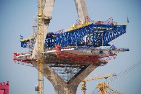 Fotografiando el Río San Pedro, construcción II Puente a Cádiz 2013)
