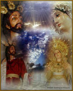 Nuestro Padre Jesús en su Prendimiento,  Nuestra Madre del Patrocinio.
