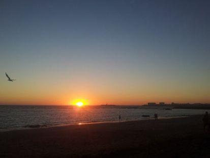 Las costas de Cádiz.