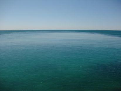 Mar del sur.