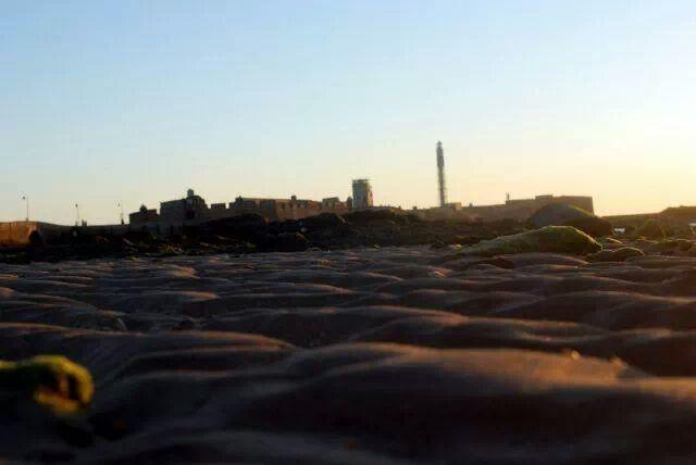 La playa la Caleta,Cádiz.