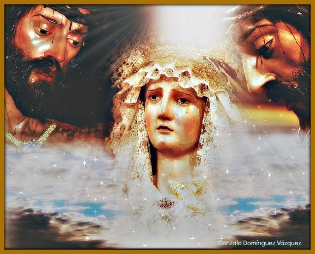 Nuestro Padre Jesús del Ecce-Homo, María Santísima de las Angustias .