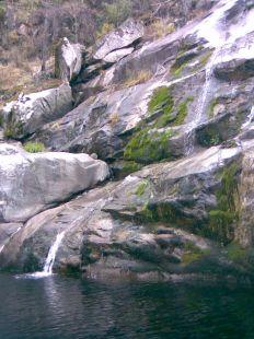 El río.
