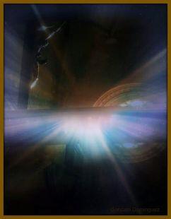 Magia en el interior del templo.