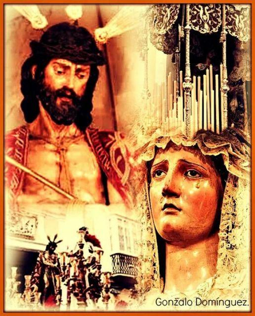 Nuestra Señora de las Angustias y nuestro Padre del Ecce Homo