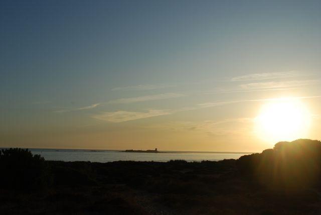 Atardecer desde Chiclana de la Frontera, Cádiz.