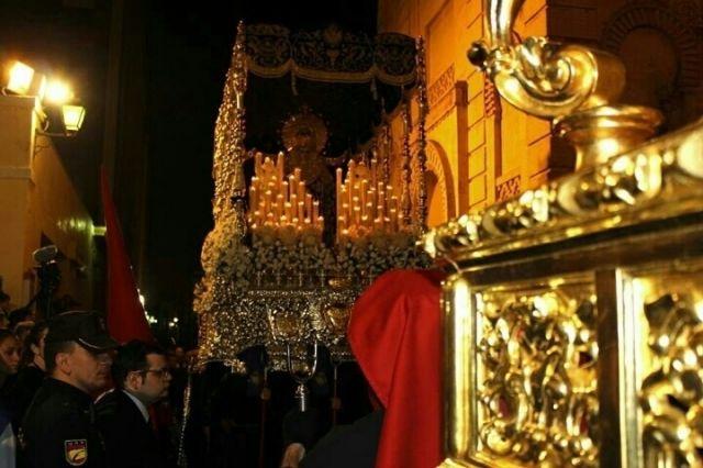 Recogida viernes santo, Nuestra Señora de la Victoria.