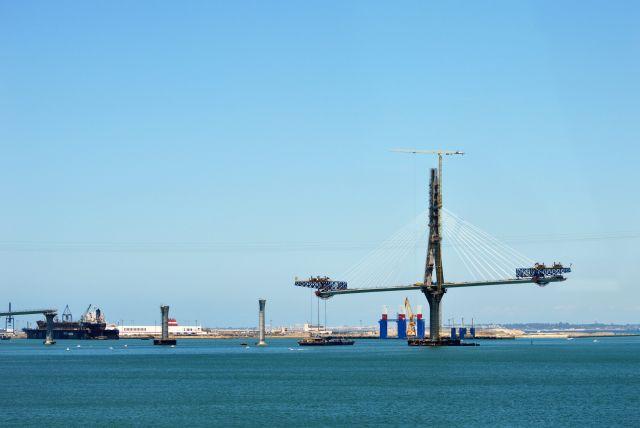 II Puente desde el Puente Carranzaa