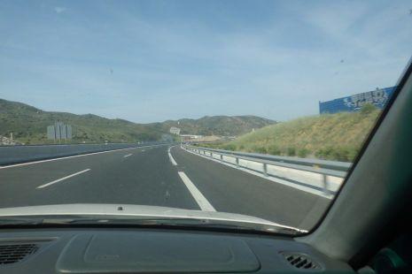 Autovia de Malaga A-45 y autopista AP-46