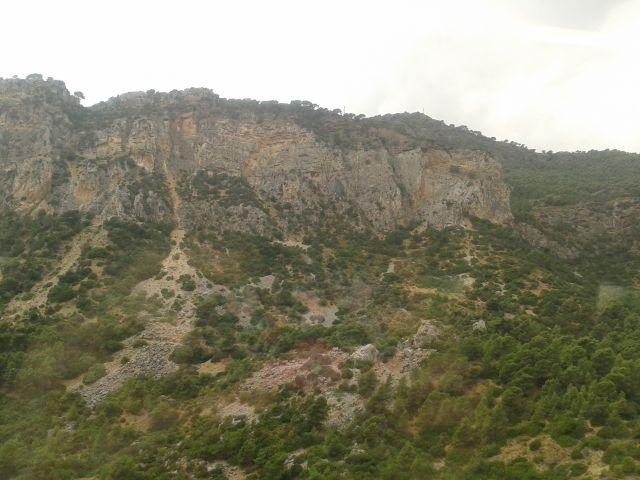 Camino hacia Málaga.